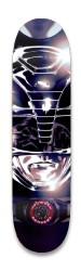 Black Power Ranger Park Skateboard 8.25 x 32.463