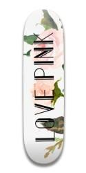 Love Pink Park Skateboard 7.5 x 31.370