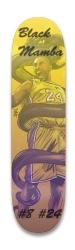 Black Mamba Forever Park Skateboard 8.25 x 32.463