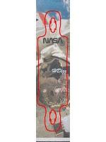 HDizz in SPACE Custom skateboard griptape
