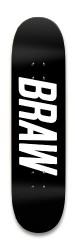 BRAW DECK Park Skateboard 8.25 x 32.463