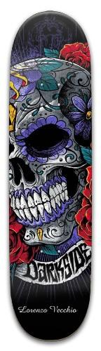 Old school skull Park Skateboard 8 x 31.775