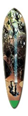 Dead space borde Dart Skateboard Deck v2