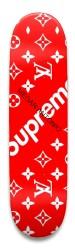 MEGAN ANTONIO X SUPREME X LOUIS VUI Park Skateboard 8.5 x 32.463