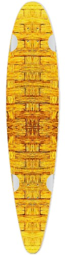Honey Oak Barrel Classic Pintail 42