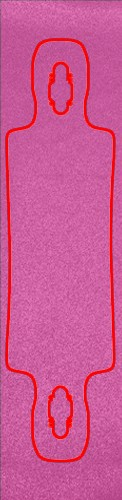 Pink Custom skateboard griptape
