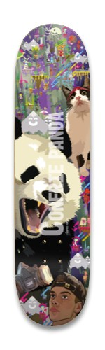 Confriepanda deck Park Skateboard 8.25 x 32.463