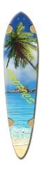 ryan longboard 4 Dart Skateboard Deck v2