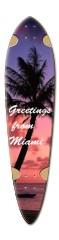 ryan longboard 5 Dart Skateboard Deck v2