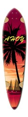 ryan longboard 8 Dart Skateboard Deck v2
