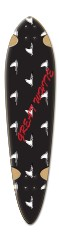 ryan longboard 10 Dart Skateboard Deck v2