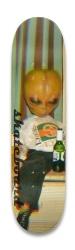 Drunk alien Park Skateboard 8.25 x 32.463