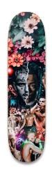 Lil Peep & Xxxtentacion & Juice WRL Park Skateboard 8.25 x 32.463