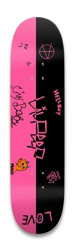 Lil Peep Design Park Skateboard 8.25 x 32.463