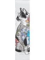 Tatt Catt #1 Custom longboard griptape
