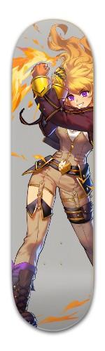 Yang is best girl Banger Park Skateboard 8.5 x 32 1/8