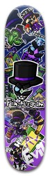 FINSTERGRAM DECK OF DOOM Park Skateboard 8 x 31.775