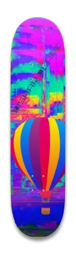 Flying High - Kishar Clark Park Skateboard 8.25 x 32.463