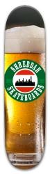 shreddah frothy Park Skateboard 8 x 31.775