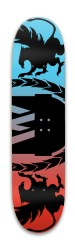 skeetbord Park Skateboard 7.88 x 31.495