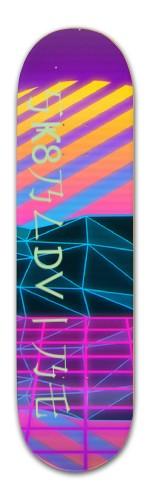 Sk8Bld Vibe 1.0 Prerelease Banger Park Skateboard 8.5 x 32 1/8