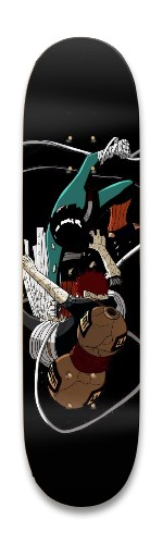Rock lee vs Garra Park Skateboard 8.25 x 32.463