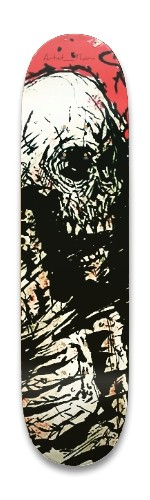 'Mr. Scary' Artist_Thorn series .01 Park Skateboard 8.25 x 32.463