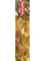 Gold supreme Custom longboard griptape