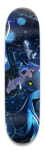 "Hatsune Miku 8.5"" Park Skateboard 8.5 x 32.463"
