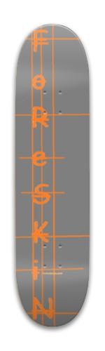 Foreskin Park Skateboard 7.88 x 31.495