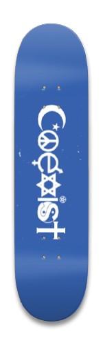 COEXIST Park Skateboard 8.25 x 32.463