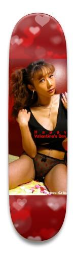 Sakura Sena Valentine's Park Skateboard 8.5 x 32.463
