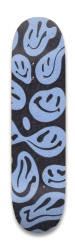 squiggly smiles Park Skateboard 8.25 x 32.463