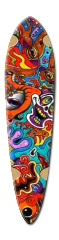Crazy Dart Skateboard Deck v2