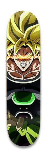 Dragon Ball Super Broly Park Skateboard 8.25 x 32.463