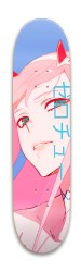 Zero Two Skate Deck Park Skateboard 7.88 x 31.495