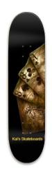 SkeletonRider Park Skateboard 7.88 x 31.495