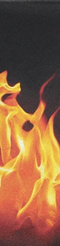 fire Custom longboard griptape