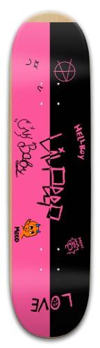 lil peep x-x Park Skateboard 8 x 31.775