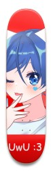 UwU Anime Park Skateboard 8.5 x 32.463