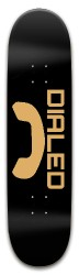 Dialed Skateboards Park Skateboard 8 x 31.775