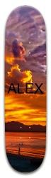 Alex Sunset Park Skateboard 8 x 31.775
