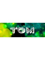 Tom Sticker 11.5  x 3.75 Bumper Sticker