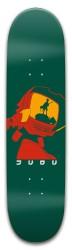 Dark green FLCL Park Skateboard 8 x 31.775