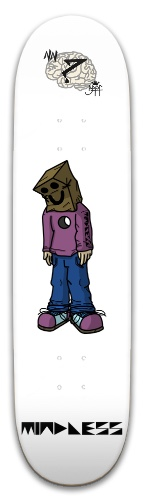 Paper Bag Man Park Skateboard 8 x 31.775
