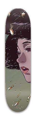 PerfectBlue Park Skateboard 7.88 x 31.495