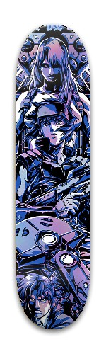 Ghost In The Shell Park Skateboard 7.88 x 31.495