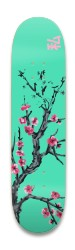 Cherry Blossom Arizona Park Skateboard 8.25 x 32.463