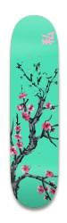 Cherry Blossom Arizona Park Skateboard 8.25 x 32.463
