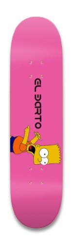 El Barto Park Skateboard 8.25 x 32.463